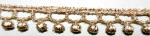 ラメケミカルレース    ゴールド Gold/シルバー Silver   13.7m  No.875008