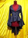 【MARBLE】マーブル 姫袖用流麗ドレープジャケット:紺