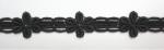 花ケミカルレース Black  13.7m