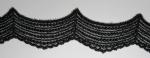 チュールレース Black  13.7m