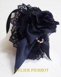 【ATELIER PIERROT】アトリエピエロ シュテルネンリヒト カチューシャ Sternenlicht Headband Black