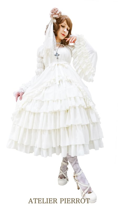 【ATELIER PIERROT】Princess sleeve lo...