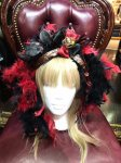 【atelier Beatrice】アトリエベアトリーチェ Feather Niagara queen  Black&Red