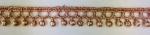 ラメケミカルレース    Gold×Pink/Silver×Pink    13.7m