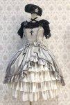 【ATELIER PIERROT】アトリエピエロ ルミエールジャンパースカート /lumière Jumper skirt  Silver