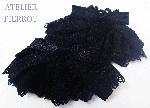 【ATELIER PIERROT】フローラお袖留め  ブラック