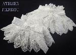 【ATELIER PIERROT】フローラお袖留め  ホワイト