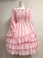 【Pina sweet collection】ピナ ドールペタルワンピース(ピンク)