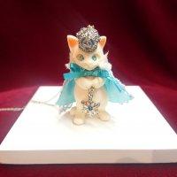 【Alice Grden Rose】アリスガーデンロゼ 雪の女王ネコネックレス