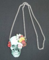 【modifica】モディーフィカ  Skull Necklace