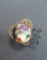 【modifica】モディーフィカ  Steam Punk Cat Ring A