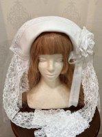 【Triple fortune】トリプルフォーチュン 修道女ヘッドドレス(ホワイト)