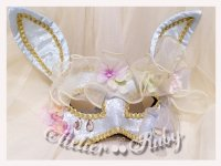 【Atelier Ruby】アトリエルビー Spring Fairy Mask Headdress-Rabbit