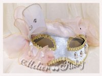 【Atelier Ruby】アトリエルビー Spring Fairy Mask Headdress