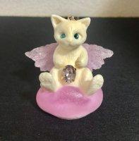 【AliceGarden Rose】アリスガーデンロゼ   天使ネコネックレス   白ネコ