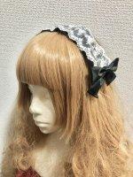 【Pina sweet collection】ピナスウィートコレクション   ドールレースカチューシャ   ブラック