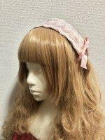 【Pina sweet collection】ピナスウィートコレクション   ドールレースカチューシャ   ピンク