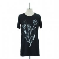 【MiDiom】ミディオム Regret Print Cut&Sewn Black