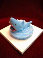 【Alice Grden Rose】アリスガーデンロゼ サメ 噛みつきリング(ブルー)