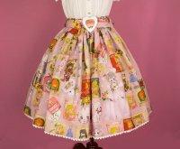 【Violet Fane】ヴァイオレットフェーン Otome Nostalgiaスカート   ピンク