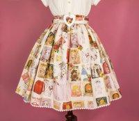 【Violet Fane】ヴァイオレットフェーン Otome Nostalgiaスカート   ホワイト