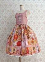 【Violet Fane】OTOME Nostalgia ジャンパースカート  Pink
