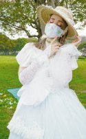 【MRcorset】エムアールコルセット 3D butterfly FASHION MASK PINK/BLUE
