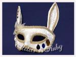 【Atelier Ruby】Mask Headdress-Rabbit White