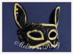 【Atelier Ruby】Mask Headdress-Rabbit Black