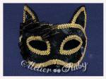 【Atelier Ruby】Mask Headdress-Cat  Black