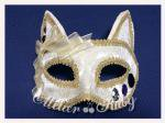【Atelier Ruby】Mask Headdress-Cat  White