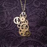 【modifica】 STEAM PUNK NECKLACE      SP15