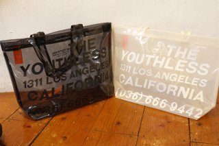 THE YOUTHLESS Classic LOGO PVC TOTE BAG