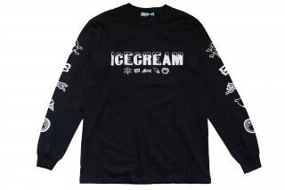 <img class='new_mark_img1' src='//img.shop-pro.jp/img/new/icons14.gif' style='border:none;display:inline;margin:0px;padding:0px;width:auto;' />ICECREAM long T-SHIRT