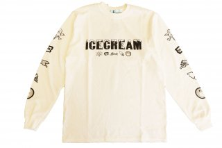<img class='new_mark_img1' src='https://img.shop-pro.jp/img/new/icons14.gif' style='border:none;display:inline;margin:0px;padding:0px;width:auto;' />ICECREAM long T-SHIRT