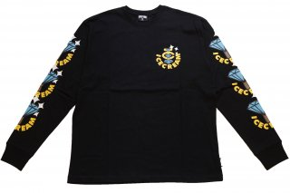 <img class='new_mark_img1' src='https://img.shop-pro.jp/img/new/icons14.gif' style='border:none;display:inline;margin:0px;padding:0px;width:auto;' />ICE CREAM BLING BLING L/S T-SHIRT