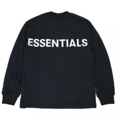 <img class='new_mark_img1' src='https://img.shop-pro.jp/img/new/icons14.gif' style='border:none;display:inline;margin:0px;padding:0px;width:auto;' />FOG ESSENTIALS REFLECTIVE LONG SLEEVE T-SHIRT BLACK