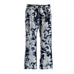<img class='new_mark_img1' src='https://img.shop-pro.jp/img/new/icons14.gif' style='border:none;display:inline;margin:0px;padding:0px;width:auto;' />ILL IT - TIE-DYE FLAIRE DENIM PANTS -