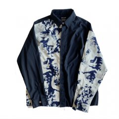 <img class='new_mark_img1' src='https://img.shop-pro.jp/img/new/icons14.gif' style='border:none;display:inline;margin:0px;padding:0px;width:auto;' />ILL IT - TIE-DYE SWITCHED SHIRT -