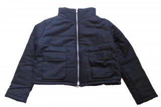 <img class='new_mark_img1' src='https://img.shop-pro.jp/img/new/icons14.gif' style='border:none;display:inline;margin:0px;padding:0px;width:auto;' />MNML CROPPED PUFFER JACKET