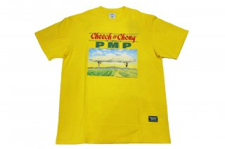 <img class='new_mark_img1' src='https://img.shop-pro.jp/img/new/icons14.gif' style='border:none;display:inline;margin:0px;padding:0px;width:auto;' />Pot Meets Pop x Cheech And Chong Greatest Hit Tee (Yellow)