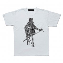 <img class='new_mark_img1' src='https://img.shop-pro.jp/img/new/icons14.gif' style='border:none;display:inline;margin:0px;padding:0px;width:auto;' />A GOOD BAD INFLUENCE - AXL CRACKED POCKET TEE ( WASHED WHITE)