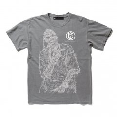 <img class='new_mark_img1' src='https://img.shop-pro.jp/img/new/icons14.gif' style='border:none;display:inline;margin:0px;padding:0px;width:auto;' />A GOOD BAD INFLUENCE - SNOOP CRACKED POCKET TEE (WASHED GREY) -