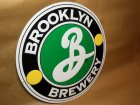 BROOKLYN BREWERY Embossed Tin Sign VTG (USED)