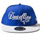 DEADLINE NEWERA CAP(BLUE/GRAY)