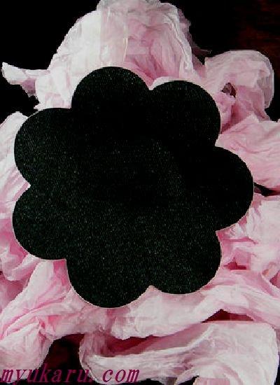 ニップル★花形ブラック【NC019】