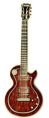 レスポール カスタム サンバーストギター ミニピン L.P Guitar Mini Pin