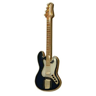 ジャズベース 紺 ギター ミニピン  J. Bass guitar Blue Mini Pin