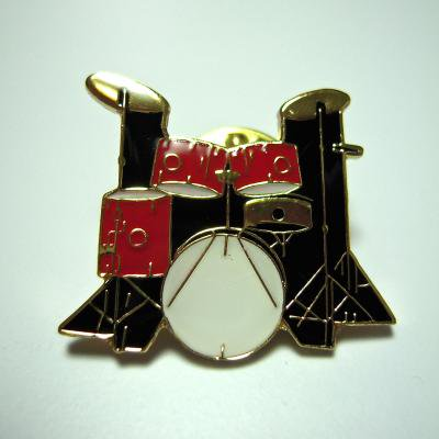 パーカッション ドラムセット5 pc 赤 ミニピン