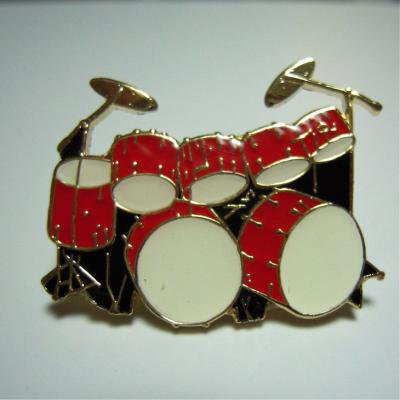 ���֥롦�١������ɥ�� (�ġ����Х� ) �� �ߥ˥ԥ� Double Bass Drum Set Mini Pin